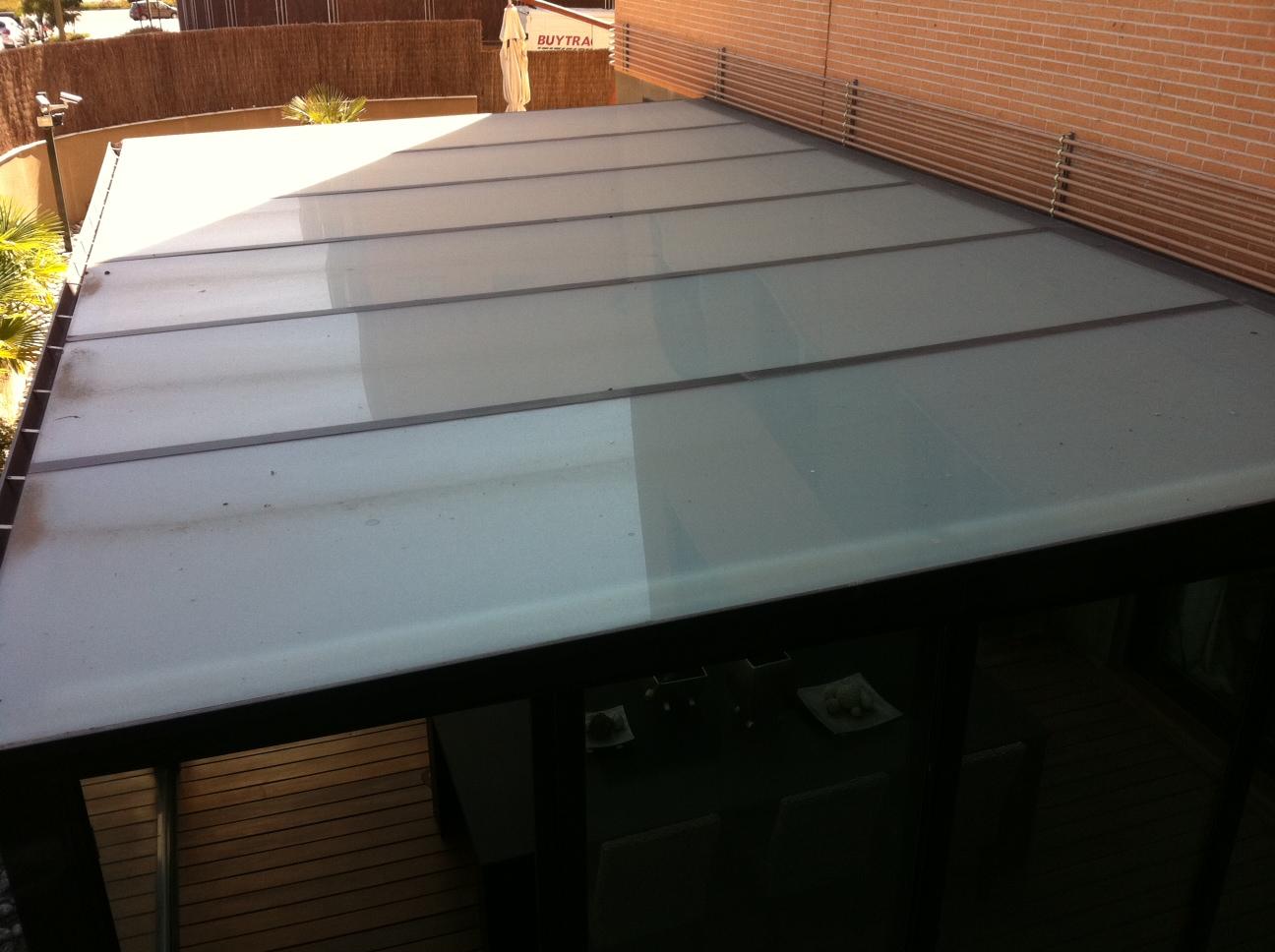 cerramientos con techo panel