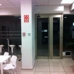 puertas abatibles de aluminio