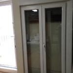 puerta abatible pvc